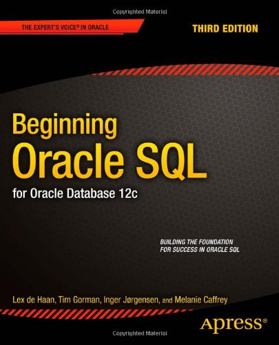 Beginning Oracle SQL 12c