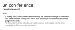 unconference dictionary definition
